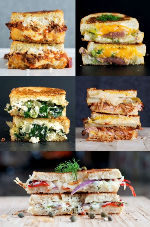graceinfood:  top five grilled cheese sandwiches