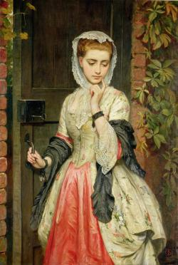 goodolarthistory:  Artist: Charles Sillem Lidderdale Title: Rejected Addresses  Date: 1876