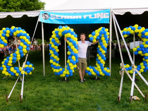University of Delaware held a Senior Fling for the 2013 graduates and invited all of the students on campus to celebrate! Congratulations Blue Hens!