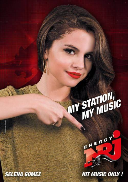 New picture of Selena for NRJ - Hits Music Only