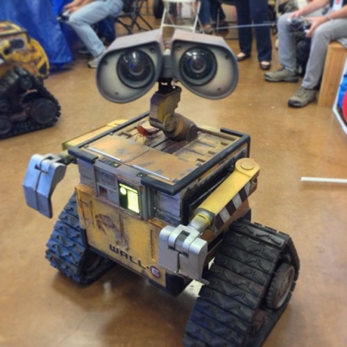 Met this guy today #makerfaire (at Maker Faire 2013)