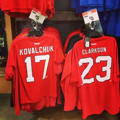 Now on sale for $5. #Kovalschmuck I miss Clarky though. Definitely a favorite of mine and he left on good terms. #clarky #kovalchuk #clarkson #davidclarkson #devils #njdevils