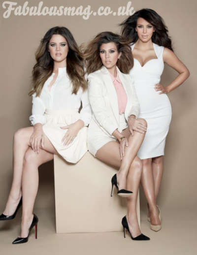 Khloe, Kourtney and Kim for the latest issue of Fabulous Magazine.See more here…