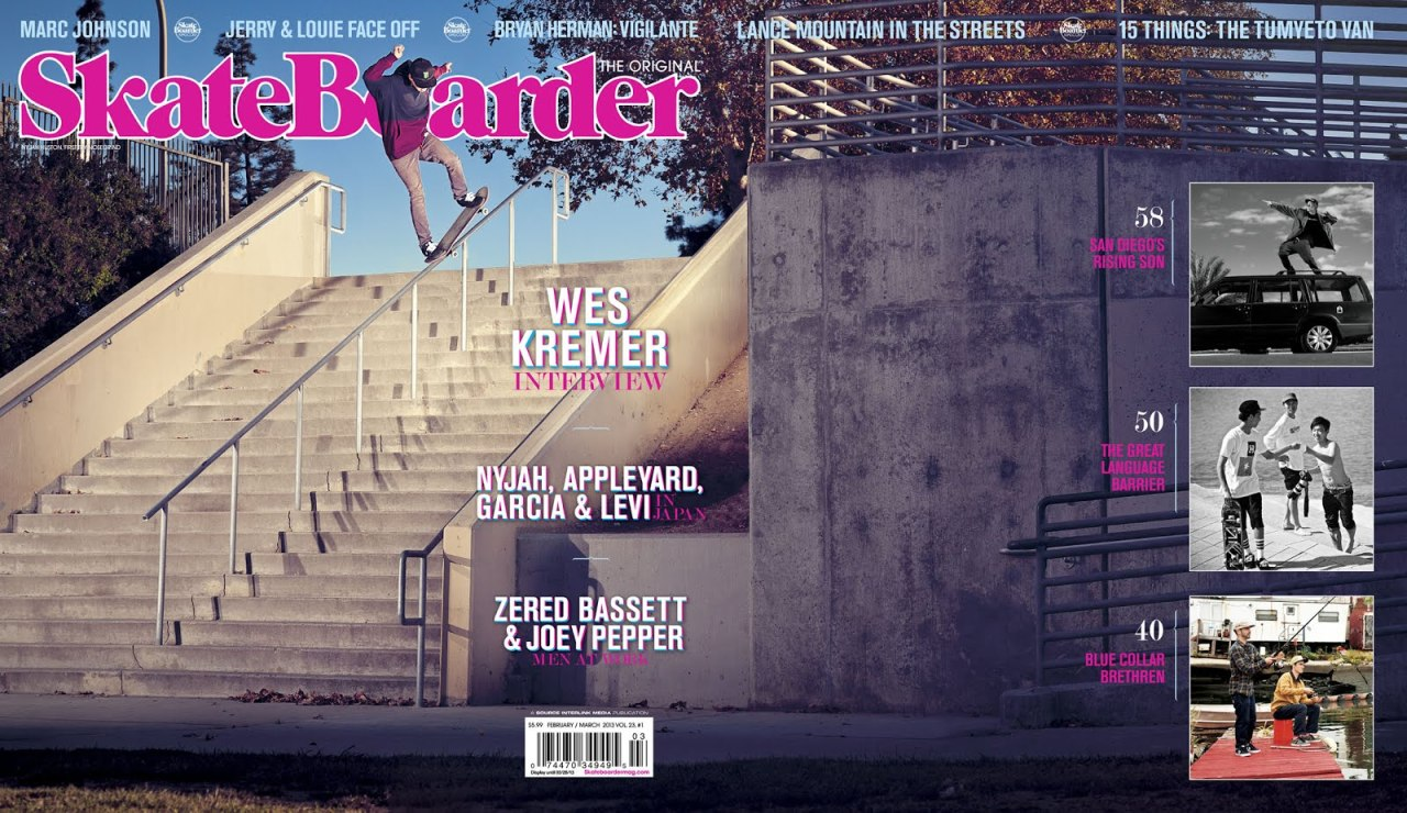 So hyped I shot my first cover. Thanks to Nyjah Huston for nosegrinding this 23 stair rail first try.