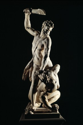 (via 'Samson Slaying a Philistine', by Giambologna, 1560-2 - Victoria and Albert Museum)