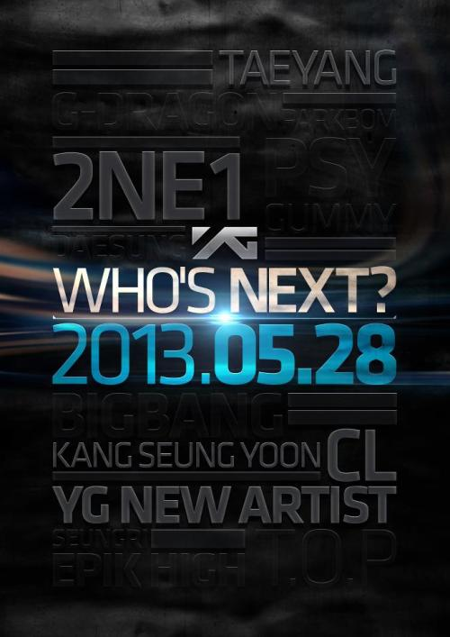 YG Life Update - Who's Next Version #2 (13.05.08) Source: yg-life.com