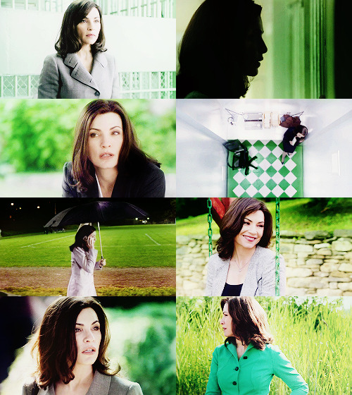 Alicia Florrick - Green | Requested by emilamoo