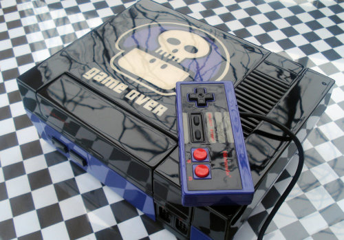 Custom NES: A Epic Art for a Epic Console! by ~Zoki64