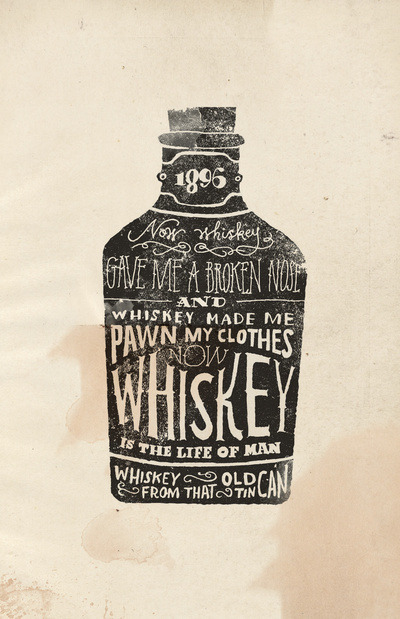 tiportiff:  Whiskey Art Print by Jon Contino