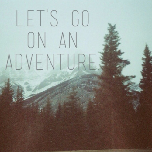 joy-is-timeless:  Seek adventure.