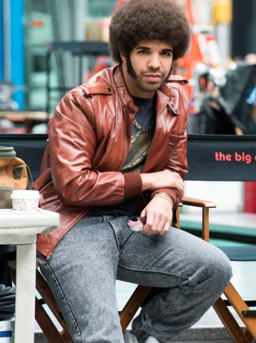 "fuckit-impaidd:  Drake in the upcoming ""Anchorman: The Legend Continues"" film."