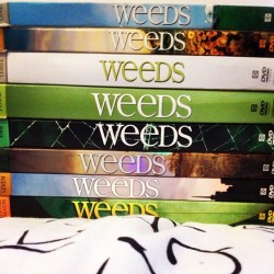 My collection is COMPLETE. #weeds #dvds #tv #rip