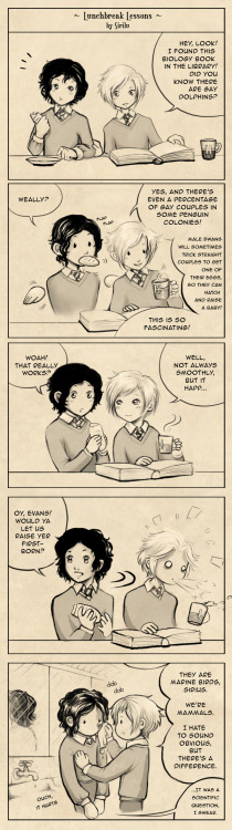 Lunchbreak Lessons by *Sirilu