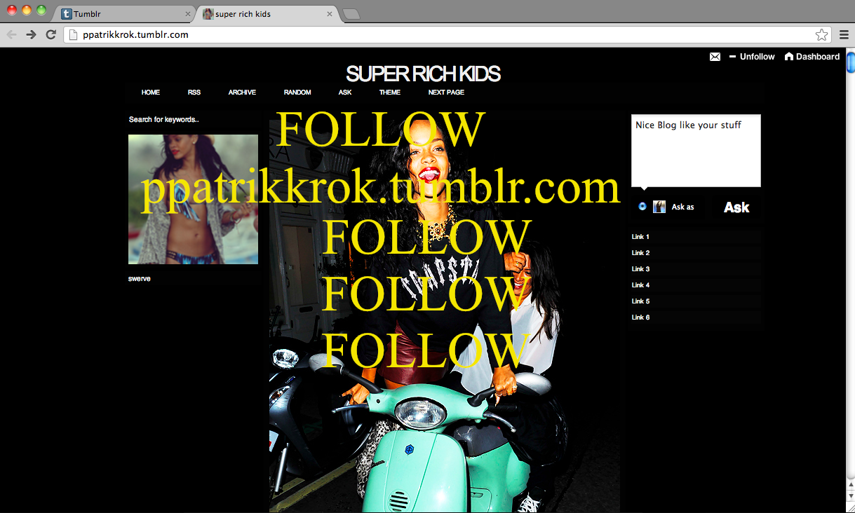 FOLLOW PPATRIKKROK.TUMBLR.COM