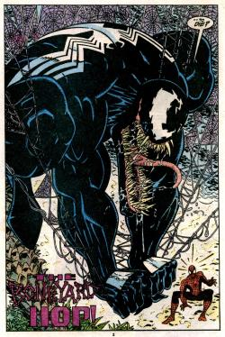 comicbookartwork:  Venom vs. Spider-Man
