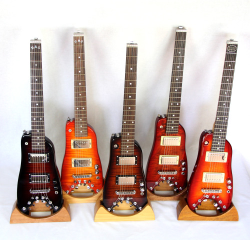 Group shot! Sorry to inundate you with these posts but the guitars are really cool and I've been photographing them for several years now. It's a project that's close to my heart. http://www.strobelguitars.com/