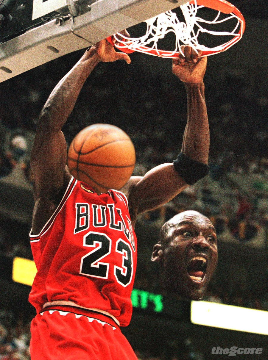 Michael Jordan Dunks Michael Jordan.