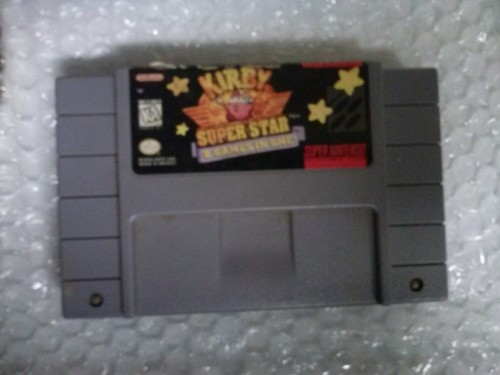 05/14/2013 A friend lent us Kirby Superstar for the SNES, and I'm not giving it back.
