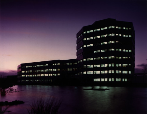 Office building, Washington, 1970s. From the Tyne & Wear archive.