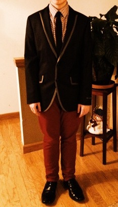 Midwinter outfit. It's from a few months back, but still.