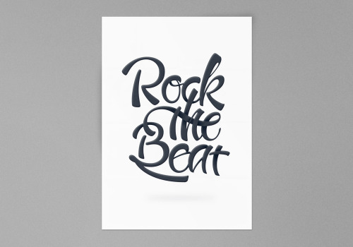 visualgraphic:  Rock The Beat