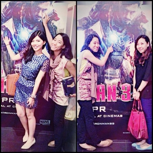 Last Thursday Night! 💃#ironman#ironman3#friends#pose#popular#famous#fun#l4l#instagood#love#selfies#beautiful#pretty#blue#throwbackthursday#night#movies#instalove