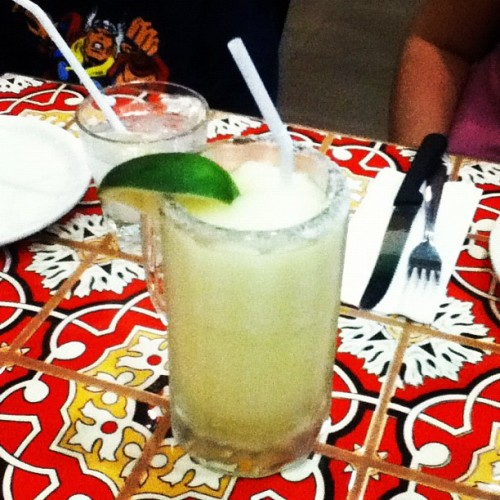 Can't believe I got carded. But this is one good margarita (at Chili's)