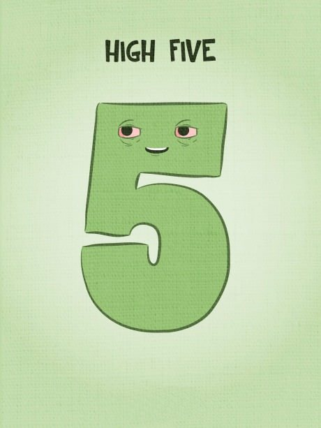 9gag:  High five