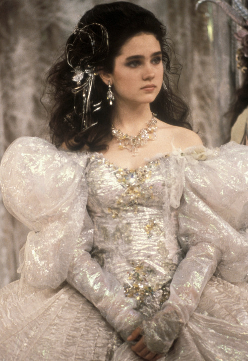 saragilmer:  Jennifer Connelly as Sarah in Labyrinth (1986)