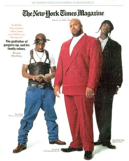 upnorthtrips:  Death Row Records - New York Times Magazine (1996)