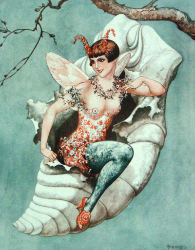 vintagegal:  Illustration by Chéri Hérouard for La Vie Parisienne, 1926