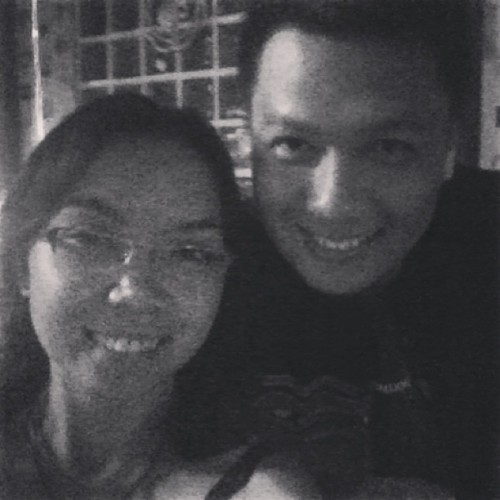 With Ian. #highschool #reunion #batch2001  (at Beherman's Diner)