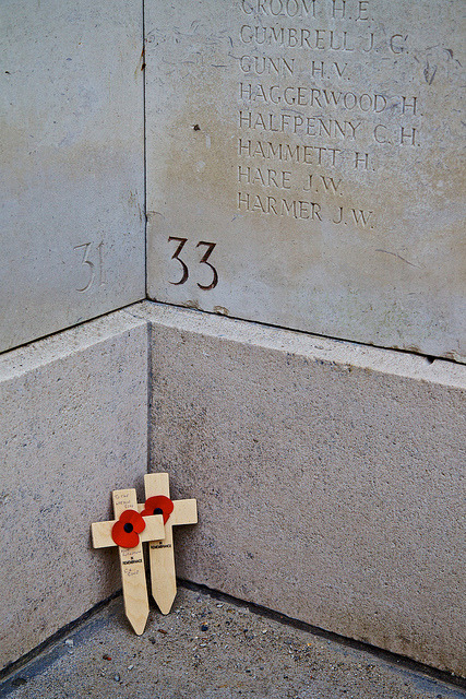 Menin Gate War Memorial, Ypres, Belgium on Flickr.