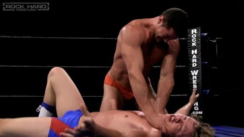 Rock Hard WrestlingDash Decker vs Colt StevensVideo at http://gogng.co/yq7tnMore at http://RoughGnG.com