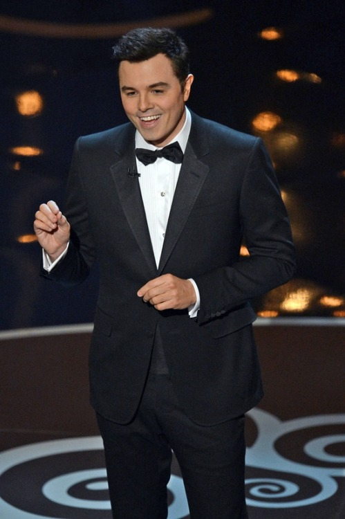 "Host MacFarlane's humor gets mixed reception (Photo: Kevin Winter / Getty Images) Seth MacFarlane is best known as the creator of the often risque ""Family Guy"" series, not generally the kind of biography touted by an Oscar host. With a reported billion people watching worldwide, some Oscar fans wondered what MacFarlane would pull out of his bag of tricks Sunday night. Read the complete story."