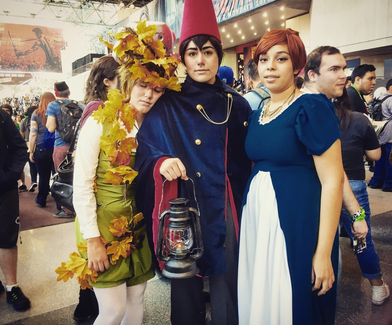 Over The Garden Wall Cosplay Sightings At The New Angry Jim 39 S Drawings Etc