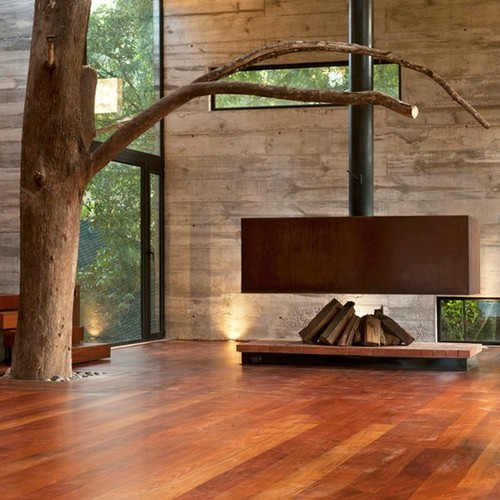 justthedesign:  Fireplace By Paz Arquitectura