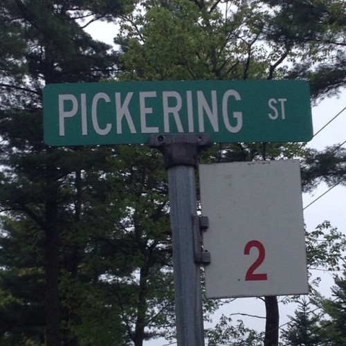 "I've been ""Pickering"" for Years"