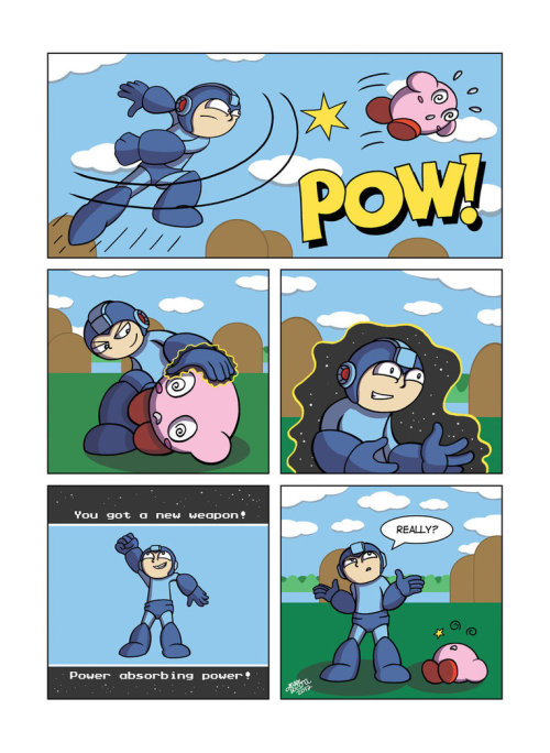 thenintendard:   Despondent Mega Man - In The Pink by Despondent-Mega-Man