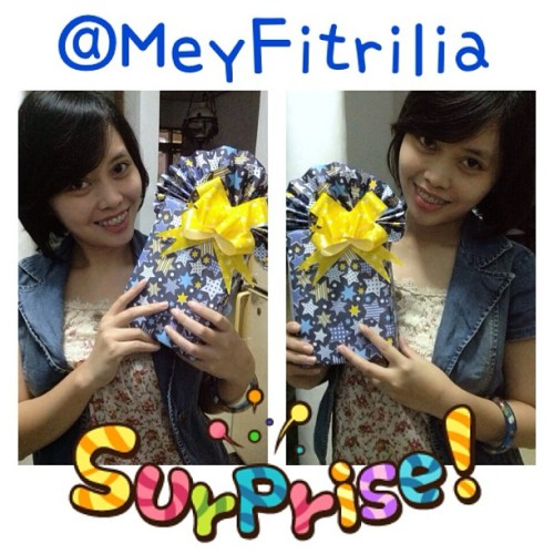 Happy Blessday @meyfitrilia … makin tantiik makin syuksyes #wildamalia (at Myracentil's home)