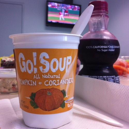 #soup time! Extra bonus is getting to watch the #phillies #preseason on break. :) (at Unique Photo)