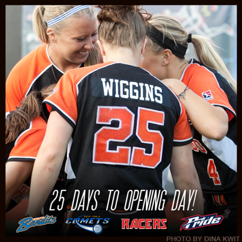 25 days until opening day!  June 5, 2013