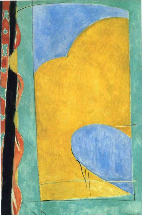 Henri Matisse - The Yellow Curtain, c. 1915