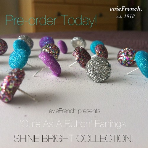 The Shine Bright collection from evieFrench is available for pre-order. www.evieFrench.com leave us a message for inquiries. #shop #eviefrench #style #fashion #shop #earrings #jewelry #accessories #glitter #colors
