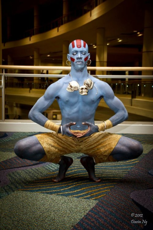 Cosplay of the day: Dhalsim