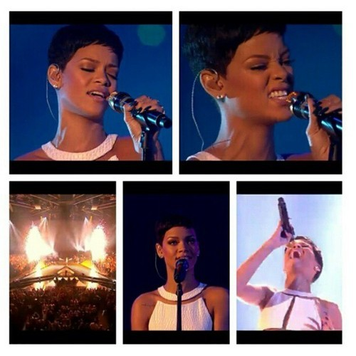 Rihanna looks jaw droppingly gorgeous, on that stage! #love #Rihanna #Xfactor #Xfactorfinal #XfactorUK #badgalriri #riri