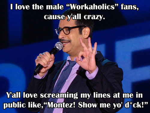 "comedycentral:  Ask a Professional Comedian: Erik Griffin tehslaphappy asked you:hey Erik, can you teach me how to grow facial? I've been trying for a why and I have no luck. Trust be happy with your baby face, this man hair is constant maintenace its not fun.  Anonymous asked you:Teezy,If a girl and I get into a difficult situation involving handcuffs and buck naked nudity, Lets say I can't find the key and need to be home by 11pm (Wife thinks I'm taking the sitter home) do I leave her and call the cops as a ""concerned neighbor"" or just get the Hell out. You are a bastard first off! hahaha, I would not want to be in that situation! Since you are already lying to your wife, better keep that lie going and say the car won't start or there was a thing that happen at the place with the stuff and get to a hardware store.  Anonymous asked you:Do you smoketh the blunt? I don't not drink or smoke. never have. Anonymous asked you:For Erik Griffin: Would you rather have to punch your face 10 times a day for the rest of your life or only be able to use the bathroom on weekdays? Explain. Well that's 5 days out of the week. I will fast on thursday, finish all the bathroom work on friday, hold it during the weekend and tear that toilet up on monday. I can't be punching this pretty face. Anonymous asked you:How many headboards have you broken through in your bedroom? Mental headboards are the way to go. Anonymous asked you:Eric, I can't get hard for my ugly Jewish wife. What do I do? Please don't say divorce her. Her parents are loaded. Get in touch with other areas of your  sub-conscience to get turned on. Find some role play. You can't be that shallow, you will never be able to fully enjoy the sexual experience of LOOKS are EVERYTHING.  insert-naughty-thoughts-here asked you:erik griffin my man!! how hard is it to avoid from acting as Montez in real life around others?? Not hard at all, if you met me you would understand Montez is just a very very small part of my real personality.  Anonymous asked you:For Erik: how many boogers will you be eating during your standup? Its unfortunetly a booger free stand up set.  burger—wolf asked you:Montez, how do you conquer that sting ray coochie? Confidence and honesty.  anamericanwerewolf asked you:Question for Erik (Monteezy) Griffin: Why do white people love smoovies so much? I just had one yesterday and it was delicious. That is one of those secrets of the universe we may never know. But they definetly love those ""SMOOVIES"" - - - Erik Griffin is answering your questions right now! Submit them here, then be sure to watch his Half Hour special tonight at 12a/11c.  How to conquer stingray coochie? What do you do when handcuffs in bed don't work out the way you hoped? Who needs Wikipedia when you've got Ask a Professional Comedian with Erik Griffen?"