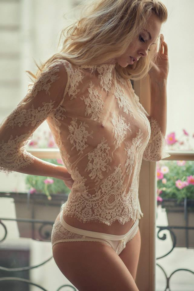 passionforelevation:Sheer is pure sexiness…