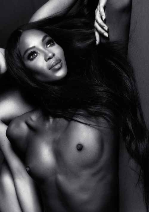 robertpovall:  Naomi Campbell for Interview Russia January 2012