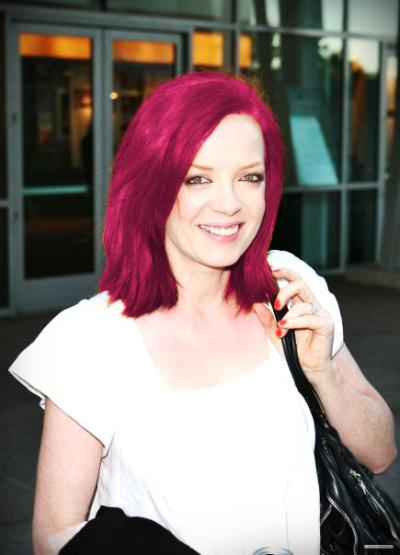 Shirley said she would choose pink if she changed her hair color :)